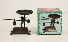 Scale with Weight Antique Finished Die Cast Miniature Metal Pencil Sharpener