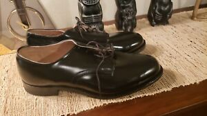 Craddock Terry DSCP Dress Shoes Men's Size 10.5 WIDE DPSC BLACK NEW NEVER WORN