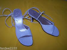 Alex Silva Damenschuhe Sandalen Sandaletten 38 Perlmutt    Nr.638