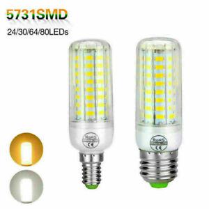 E27 E14 Corn LED Bulb 5730 SMD Led Lamp 110V-220V Candle Light Lamp