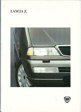 1994 LANCIA Z Turbo 8v brochure italiano