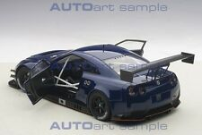 Autoart NISSAN GT-R NISMO GT3 AURORA FLARE BLUE PEARL 2015 COMPOSITE MODEL 1/18