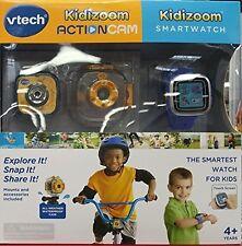 Vtech Kidizoom Action Cam plus Smart Watch Bundle NEW!
