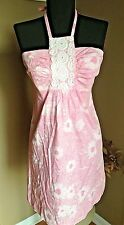 Pink Lilly Pulitzer Raccoon Halter Dress Size 2