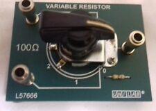 10 x A100Ω linear potentiometer.