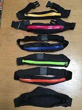 NIB Fitness Running Sports Travel Waist Belt Pouch Bum Bag