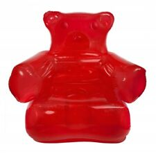 Thumbs up Red Inflatable Gummy Bear Chair Lounger With Pump