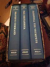 Pax Britannica, James Morris, 3 Volume Set, The Folio Society,  With  Slipcase