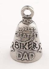 Worlds Greatest Biker Dad Guardian® Bell Motorcycle Harley Luck Gremlin Ride