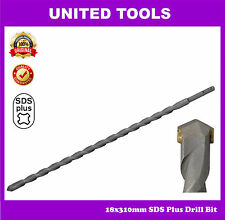 SDS Plus 18x310mm drill bit for Concrete, Bricks, Stone
