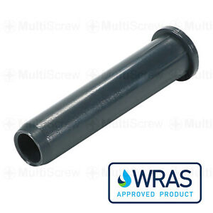 MDPE MAINS PIPE LINER 20MM 25MM 32MM COMPRESSION INSERT PLASTIC POLY CONNECTOR