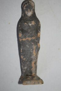 ANCIENT GREEK POTTERY FIGURE of a STANDING GODDESS 6th CENTURY BC
