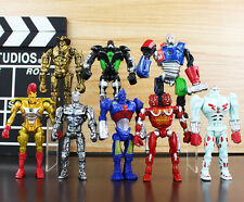 8Pcs Real Steel Action Figure Toy Set PVC Rare Collection Robot Toys Boys Gift