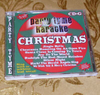 CD +G Christmas Party Tyme Karaoke Sing-along albums & graphic scripting  2003