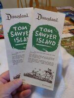 Disneyland Tom Sawyer Island Brochure - MINT - MAKE OFFER