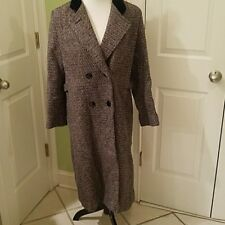 Miss abmoor vintage long tweed coats made in USA size 10