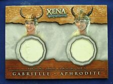 Xena Beauty And Brawn Dual Costume Card DC6 Gabrielle & Aphrodite Renee O'Connor