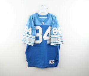 Vtg 90s Wilson Pro Line 50 Detroit Lions Herman Moore Football Jersey Stitched