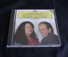 MARTHA ARGERICH, GIDON KREMER. BEETHOVEN 'Sonatas 9 & 10' DG 447 054-2