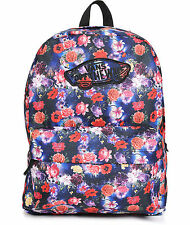 VANS REALM FLORAL GALAXY BACKPACK 100% AUTHENTIC MSRP $35-  NEW w/TAG!!