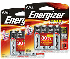 ENERGIZER Max AA 16ct Batteries Exp 12/24 MADE IN USA NEW SEALED BOX
