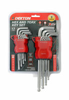 Dekton Hex And Torx Key Set, Set Of 2 Piece