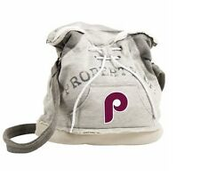 MLB Philadelphia Phillies Retro Hoodie Duffel, Gray