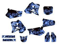 1995 1996 1997 CR 125 250 R graphics kit CR125 CR250 sticker 9500 Blue Zombie
