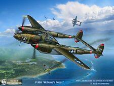 ART PRINT: P-38H Lightning McGuires Pudgy by Stu Shepherd