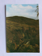 Pass of Killiecrankie Perthshire Vintage colour Postcard c1970s