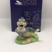 "Royal Doulton ""Thumper"" Disney Showcase Bambi Film Classic Rabbit Figurine MINT"