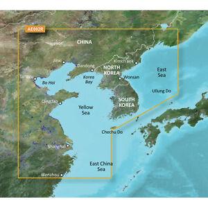 Garmin BlueChart g3 Vision VAE002R Yellow Sea Chart microSD/SD
