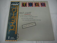 FREE- Live! JAPAN Press w/OBI Bad Company Paul Kossoff Paul Rogers AC/DC