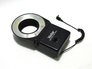 Vivitar MacroFlash 5000 Ring Flash with one 55 mm ring - Tested & Working