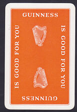 Guinness Is Good For You  1960c.Single swap Playing Card (g1)