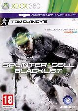 Tom Clancy's Splinter Cell: Blacklist (Microsoft Xbox 360, 2013, Complete)
