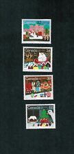 1985 CANADA STAMPS   #  1067 to 1070  MINT  CHRISTMAS  SANTA CLAUS PARADE nb19