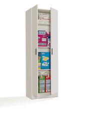 Mueble Auxiliar 2 puertas con estantes / Mueble Multiusos / Color Blanco
