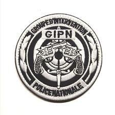 Ecusson Patch Police GIPN à Scratch ou à Coudre d'excellente Qualité 8 cm