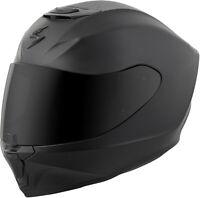 Scorpion Exo-R420 Full-Face Solid Helmet Matte Black