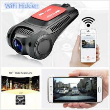 170° HD 1080P WiFi Hidden Car DVR Camera Video Recorder Night Vision Dash Cam