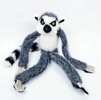 "Wild Republic Hanging Ring Tailed Lemur Plush Stuffed Animal Soft Toy 16"""