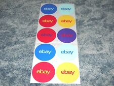 """10 Stickers Classic Round eBay Stickers 3"""" x 3"""" , Office Supplies, New, Unused !"""
