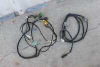 BMW E30 325i 325e 6 Button OBC On Board Computer clock wire harness exterior