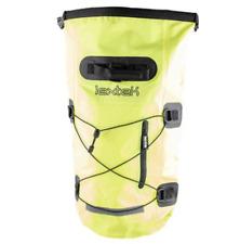 Lextek Waterproof Motorcycle Scooter Luggage Dry Seat Bag Tail Backpack 30L Yell