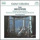 Brouwer: Guitar Music, Vol. 2, Elena Papandreou, Audio CD, New, FREE & Fast Deli