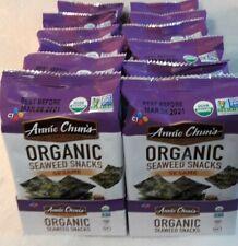 Annie Chun's Organic Seaweed Snacks, Sesame 1 box-12 Case, Exp. 3/8/2021