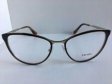 New PRADA VPR 5T5 DHO-1O1 52mm Plum Cats Eye Women Eyeglasses Frame  #7