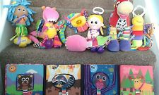 Lamaze Bundle of Assorted Pram and Cot Toys - 7 items