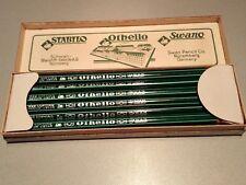 Vintage OLD Bleistifte Schwan --Othello--982--Bleistift Fabrik Othello-12 Stifte